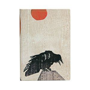 Crow with Red Sun - Front