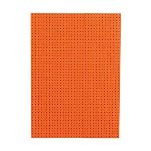 Orange auf Grau - Front