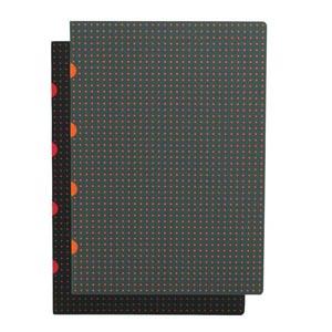 Black on Red / Grey on Orange - Front